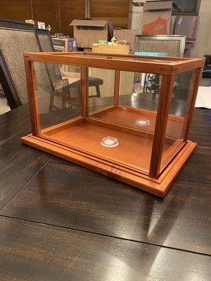 Wood display box for Sale in St. Petersburg, FL