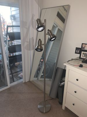 Brushed Nickel Finish Floor Tree Lamp for Sale in Lyndhurst, NJ
