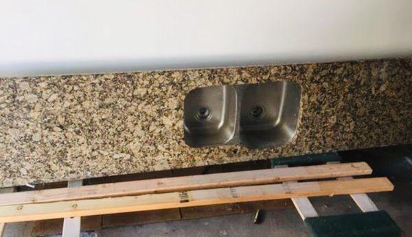 Granite top/ sink