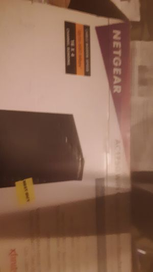 Netgear wifi cable router ac 1750 for Sale in Columbia, SC