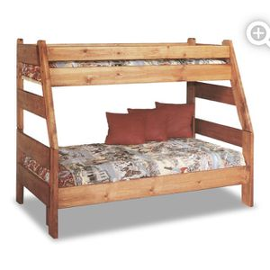 High Sierra Twin Over Full Bunk Bed With Full Mattress for Sale in Gresham, OR