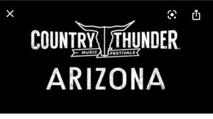 Country Thunder 2020 for Sale in Surprise, AZ