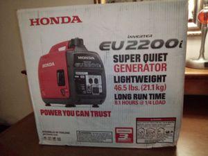 Honda eu2200 generator for Sale in Salt Lake City, UT