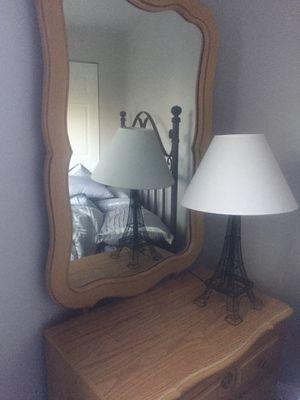 Dresser w/ attachable mirror. for Sale in McKnight, PA