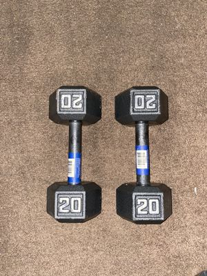 20lb Dumbells for Sale in Downey, CA