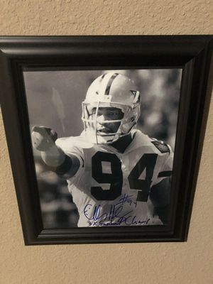 Charles Haley Autographed 8x10 photo for Sale in College Station, TX