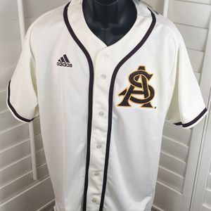 Arizona State ASU Sun Devils Authentic Adidas Baseball Jersey Size 44 Large, Stitched On ASU Logo - Brand New w/Tags $150.00. for Sale in Glendale, AZ