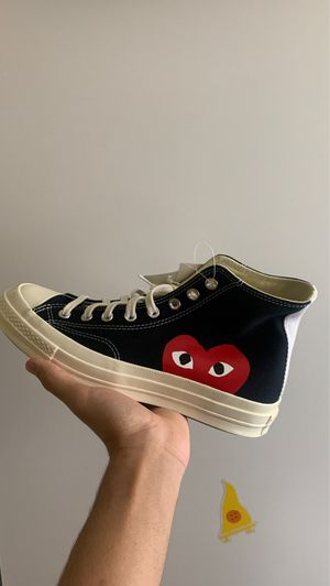 CDG Converse Hi Size 8 Brand New for Sale in Washington, DC