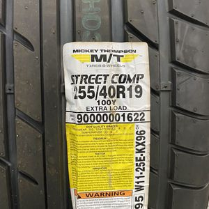 Micky Thompson 255/40R19 for Sale in Aurora, OH