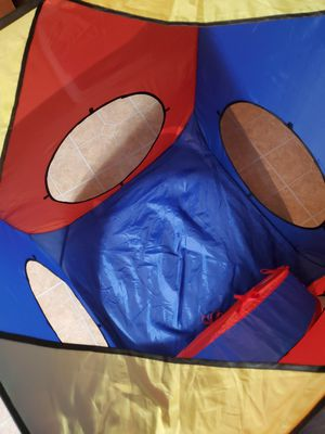 Kids play tunnel and cube for Sale in Loganton, PA