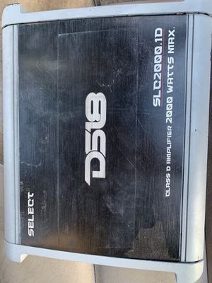 DS18 Sub Amp 2000 Watts for Sale in Tucson, AZ