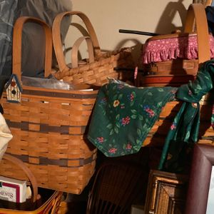 Longaberger Baskets for Sale in Mission Viejo, CA