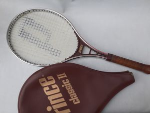 Vintage Prince CLASSIC II Tennis Racket w/ case for Sale in South Gate, CA