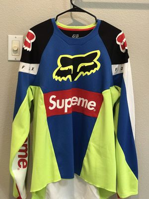 Supreme fox racing jersey multicolor for Sale in Wilsonville, OR