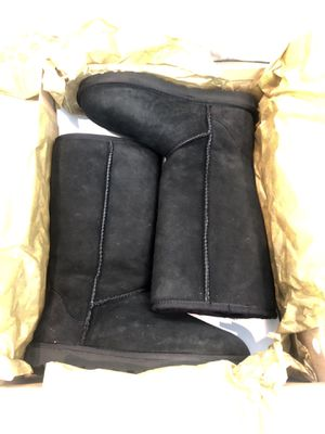 Tall black Ugg boots size 6 for Sale in Los Angeles, CA