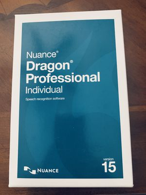 Dragon naturally speaking professional version 15. Brand new. Never used for Sale in Palm Harbor, FL