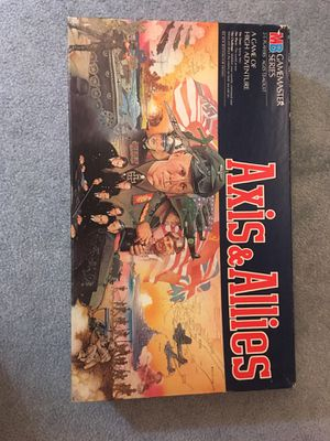 Axis & Allies classic board game for Sale in Closter, NJ