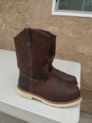 Thorogood steel toe work boots size 9.5 EE for Sale in Riverside, CA
