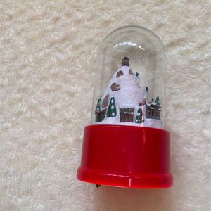 Christmas Electronic Snow Globe for Sale in Rancho Cordova, CA