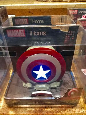 Marvel Capt America Shield Bluetooth Speaker for Sale in Chesapeake, VA