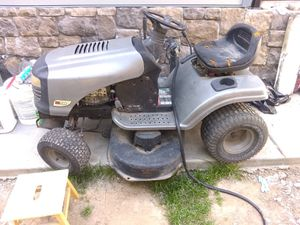 """Craftsman Riding Lawn Mower 42"""" + Catch, Sprayer, extra blades and belt for Sale in Sacramento, CA"""