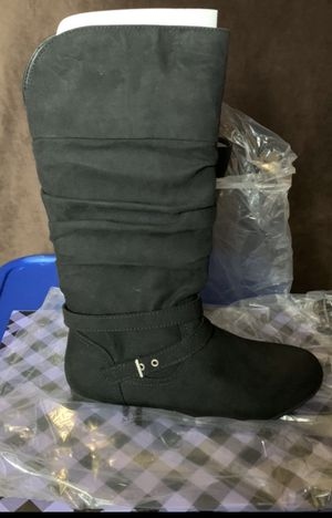 Brand New Big Girls Boots (size 3) for Sale in Manteca, CA