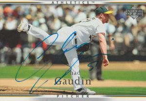 Oakland Athletics Chad Gaudin autographed baseball card for Sale in Farmville, VA