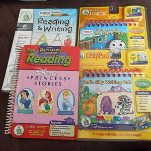 Set Of 4 Leap Frog / Leap pad Learning systems for Sale in Miami, FL