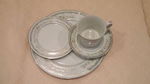 Set of 24 (Large, med, and tea plate, with cup) for Sale in Alexandria, VA