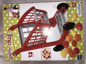 100% Chef Kids Shopping Cart Toy for Sale in Roselle, NJ