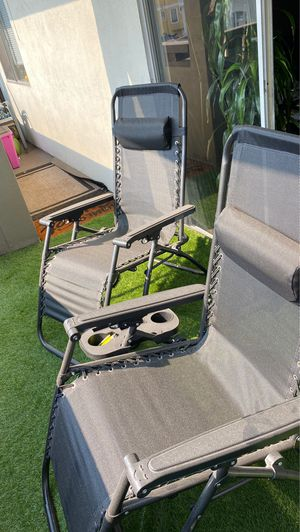Two Zero Gravity Chairs - Black for Sale in Oakland, CA