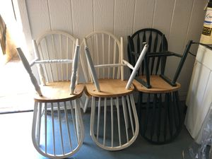 Dining room chairs-25 for all or 5 each. for Sale in Phoenix, AZ