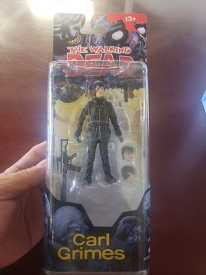 McFarlane Toys The Walking Dead Comic Series 4 Carl Grimes Action Figure [Alternates Heads] new selling for only $20 for Sale in Long Beach, CA