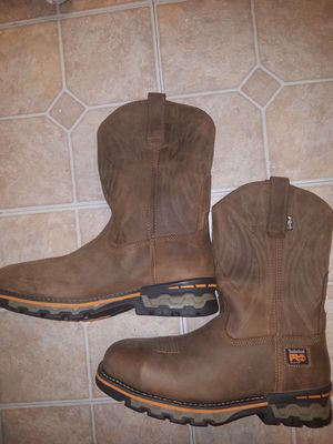 Timberland pro alloy toe cowboy work boots size 10 for Sale in Las Vegas, NV