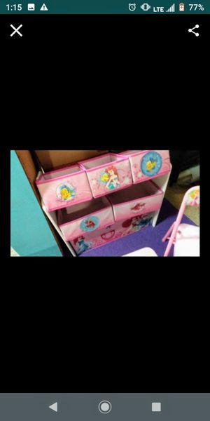 Little Mermaid toy organizer for Sale in Corona, CA