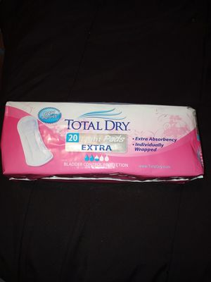 Total Dry light pads for Sale in CRYSTAL CITY, CA