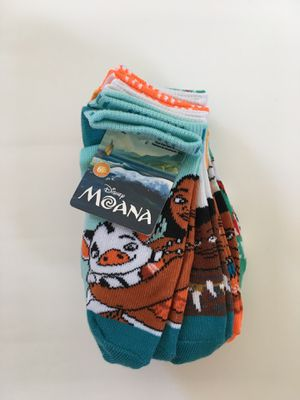 6 pairs of Moana sock for Sale in Wellington, FL