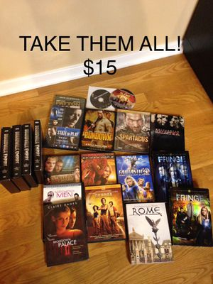 DVD'S TAKE ALL $15-WEST LOOP PICK UP for Sale in Chicago, IL