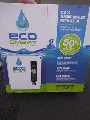 Eco Smart tankless water heater for Sale in Bellevue, WA