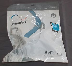 NEW Resmed MED AirFit F10 Full Face Mask Headgear Cushion #63102 Complete Set Up for Sale in Oceanside, CA
