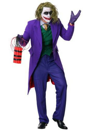 Joker Halloween outfit adult brand new for Sale in Bluewell, WV