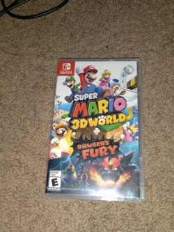 New & Factory Sealed Super Mario 3D World + Bowser's Fury for Sale in Fresno,  CA