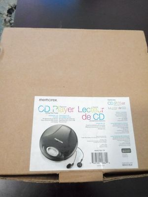 NEW CLASSIC MEMOREX CD PORTABLE PLAYER. for Sale in Lakeland, FL