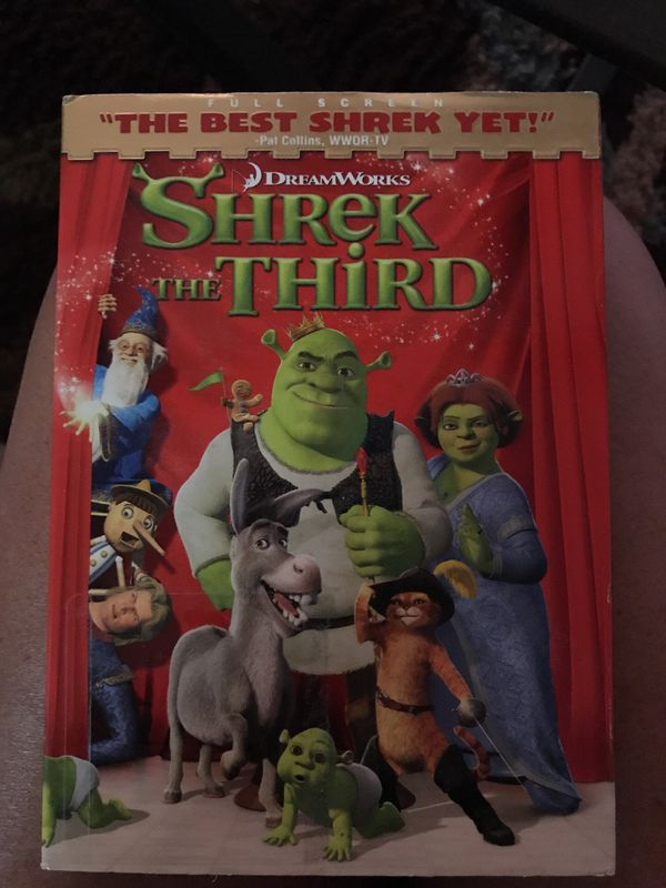Shrek the third , dvd like new