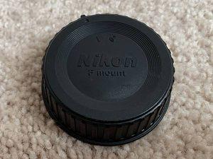 Nikon Rear Lens Cap For F Mount Lens for Sale in Renton, WA
