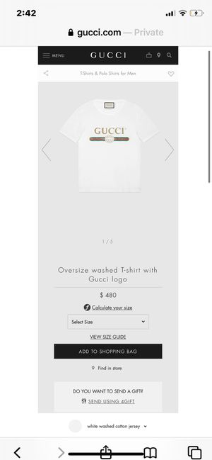 Oversized GUCCI shirt Brand New for Sale in Oceanside, CA