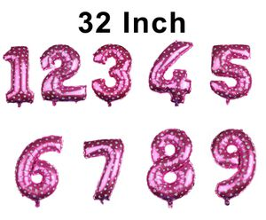 "32"" Number Pink-color foil balloon for Sale in Perris, CA"