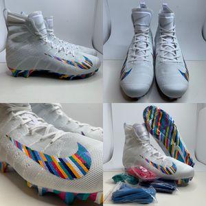 (12.5) Nike Vapor Untouchable 3 Elite LE NFL Crucial Catch Football AV4103-100 for Sale in Euless, TX