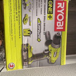 Ryobi 18v Hammer Drill/driver Kit for Sale in Tampa,  FL