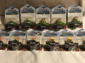 Mine Craft Boost Minis (11 Available... Lot is $30... Will sell pairs and quads for different price. Check Description) for Sale in Vancouver,  WA
